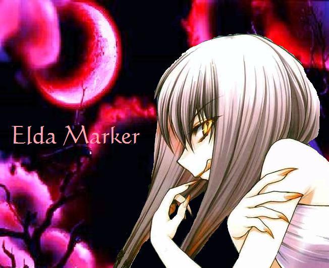 .:Chibi Vampire:Elda Marker:. by Anemic-Artist