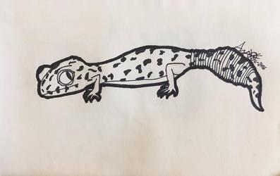 .:Leopard Gecko:. by Anemic-Artist