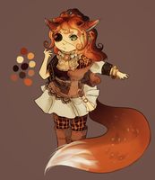Foxlady AUCTION [closed] by Suzu-Adopts