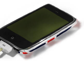 My phone (graphics tablet life practice) by AlexxxLupo