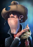 Cowboy by geci