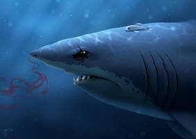 Great White by geci
