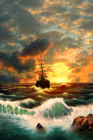 Sailing for.... by geci