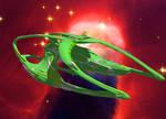 Romulan Fvillhu Mk I Warship Carrier - Star 04A