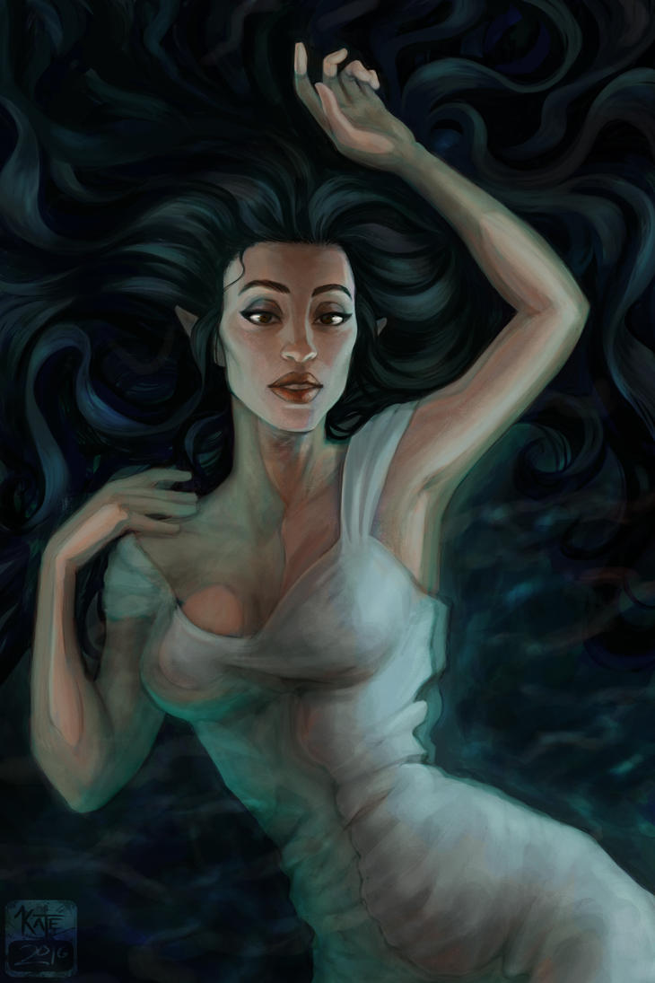 Dreamer Pool by IllustrationMinion