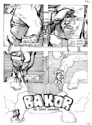 24HC-2: Page 1 BAKOR THE BAKER by Gumbogamer