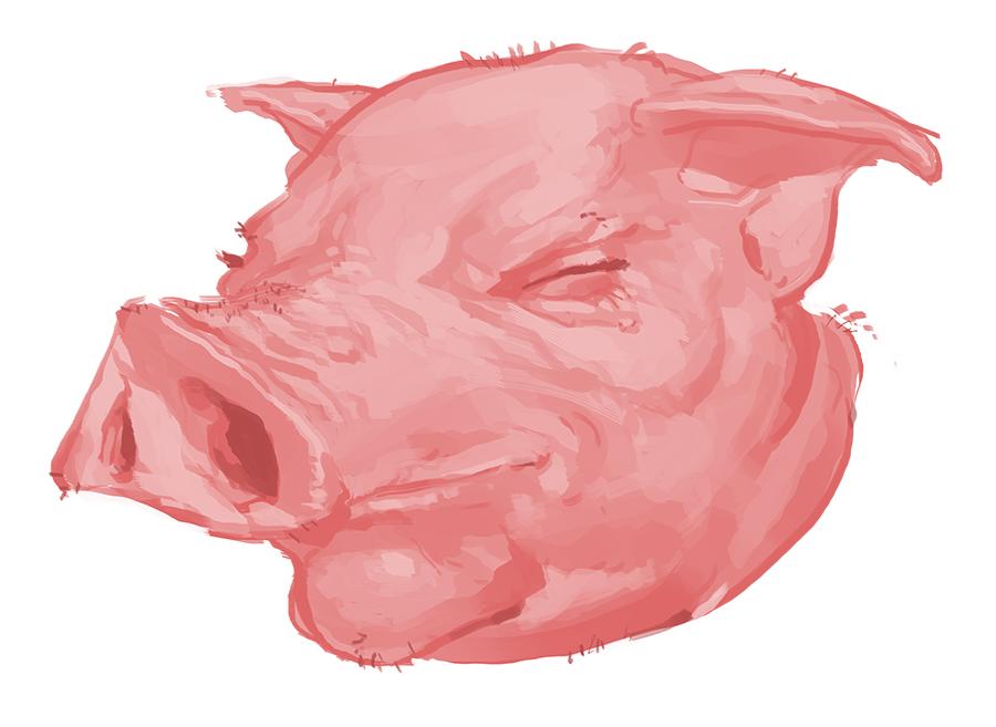 A Pig by Gumbogamer