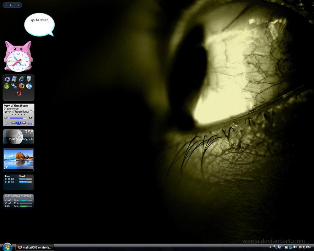 My Desktop. Again?? by malice9005