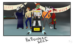 ~Halloween Party~ by PHantomDragon-56