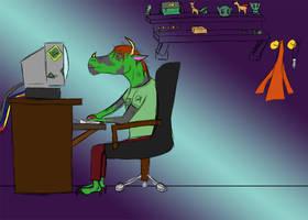 (dA)ddicted Dragon by PHantomDragon-56