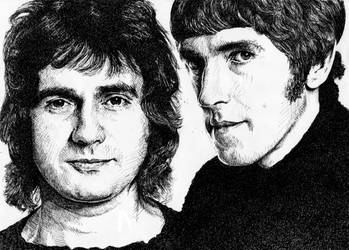 Not only Dudley Moore but also Peter Cook by tootsiemuppet