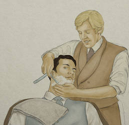 Raffles/Bunny A Close Shave by tootsiemuppet