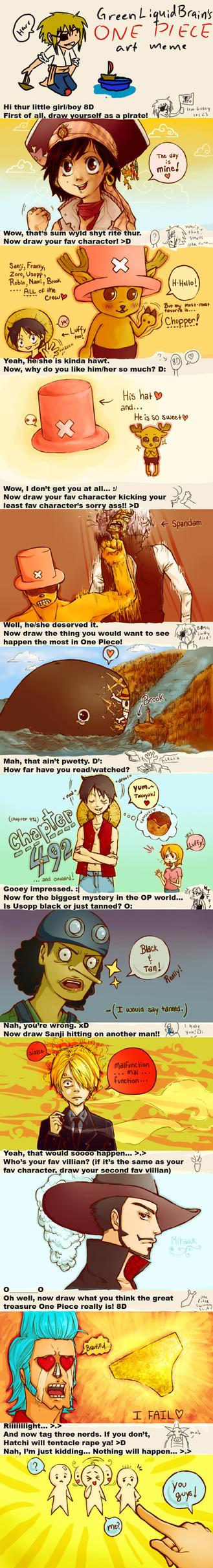 One Piece Meme by Reba