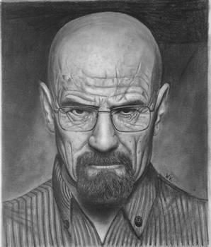 Walter White - Breaking Bad Heisenberg Drawing