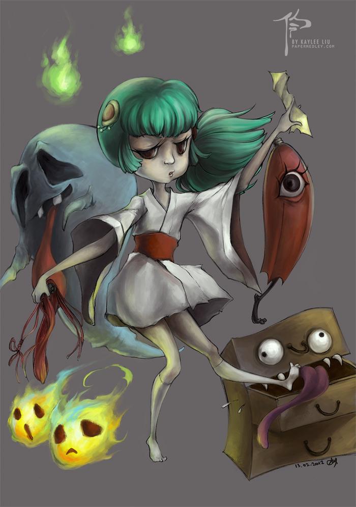 _Ghouls 'n' Things by helloleek