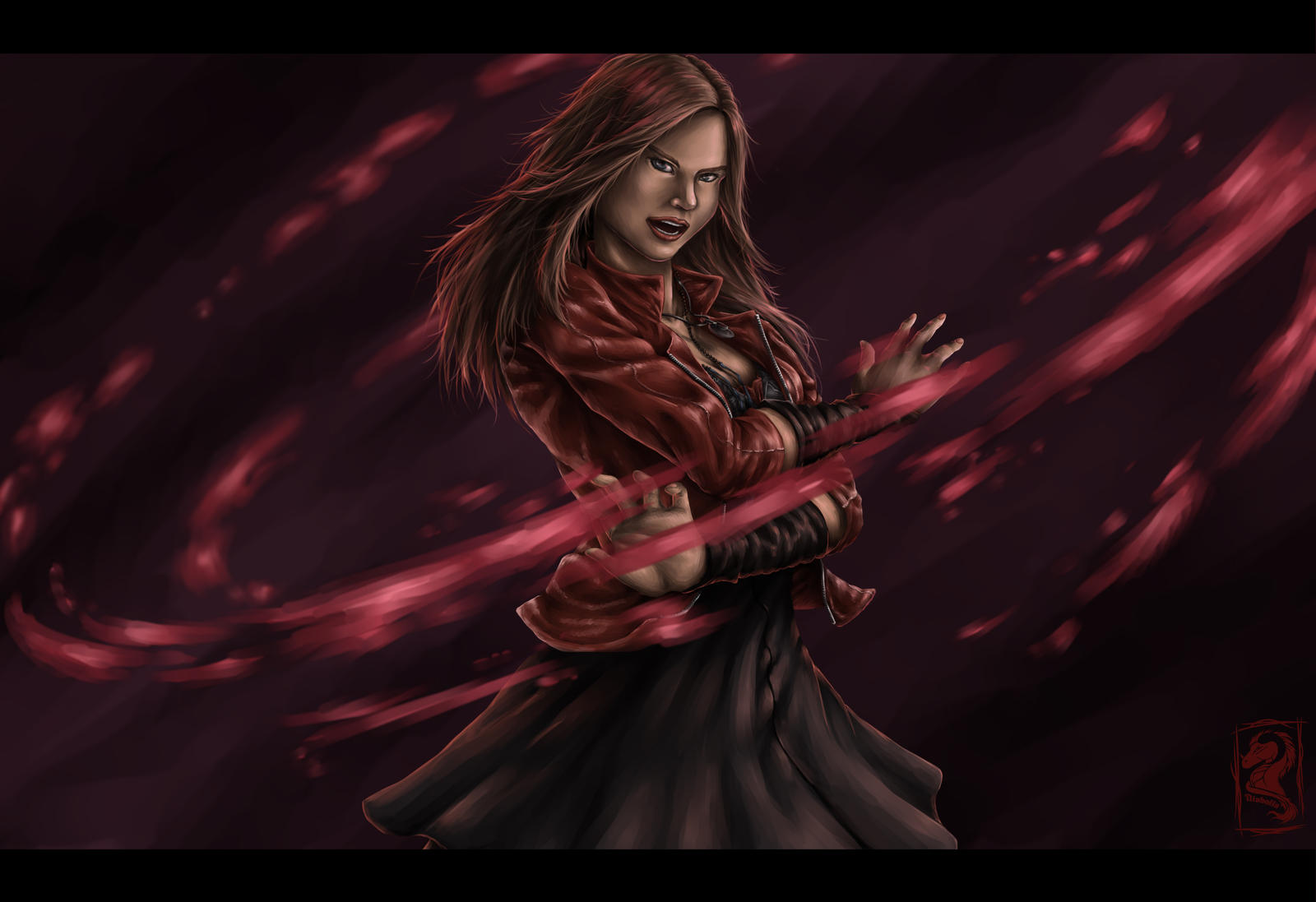 Simple Wallpaper Marvel Scarlet Witch - fan_art__scarlet_witch___wanda_maximoff_by_niabolla-d7yko5x  Collection_578365.jpg
