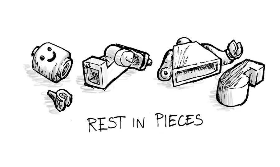Rest In Pieces Rest In Pieces