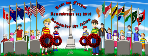 Mother / Earthbound Remembrance Day 2019 by muhammadin