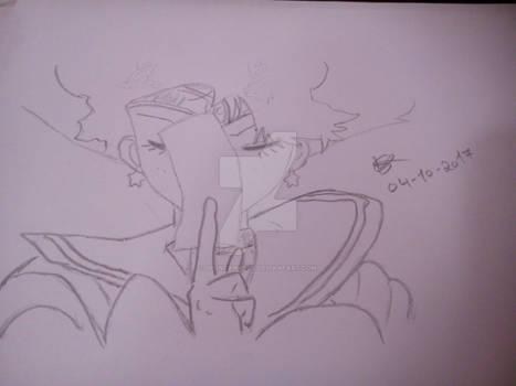 Sailor Mars Sketch