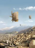 Imperial Gravity Defiers by sketchboook
