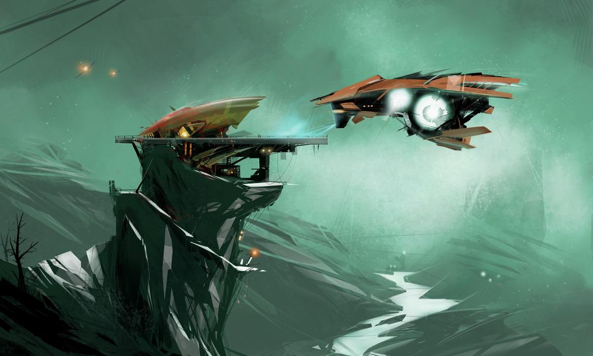 Eagle's Nest by sketchboook