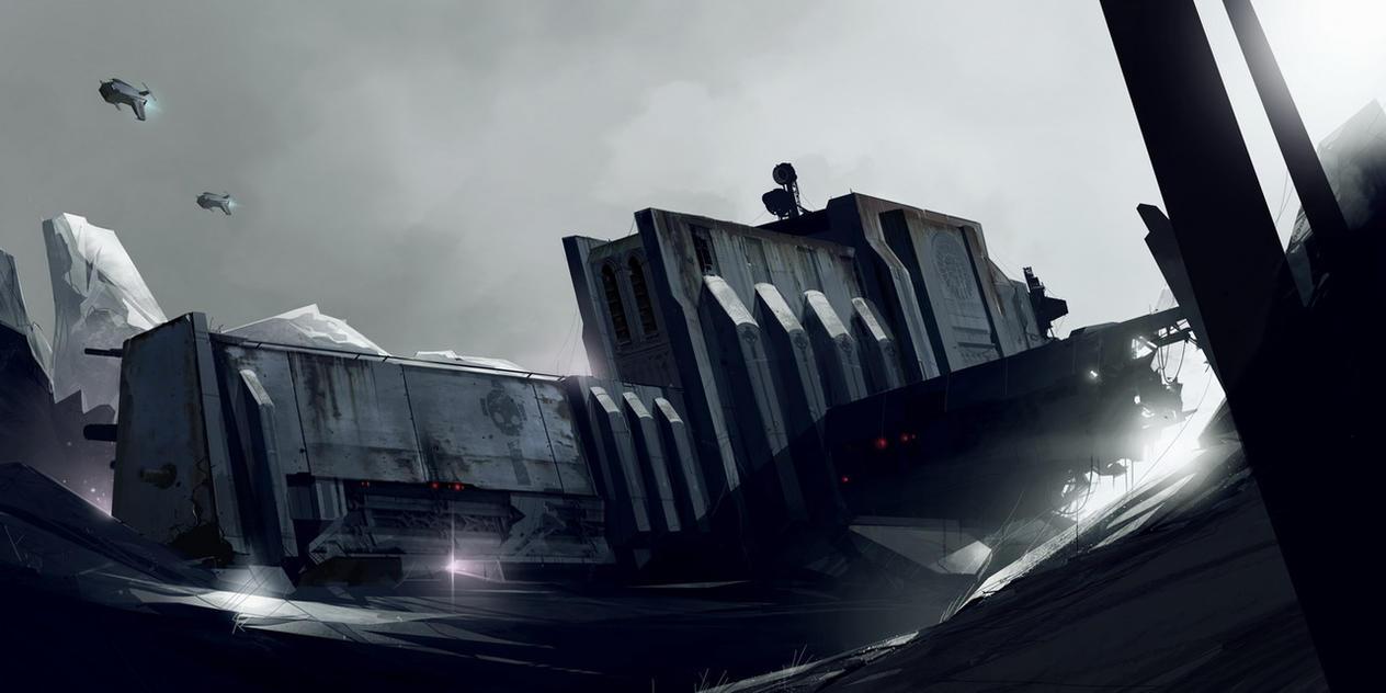 WH40K: Fallen giant by sketchboook