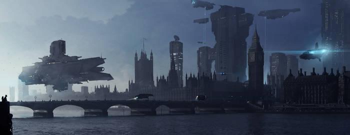 London 2208 by sketchboook