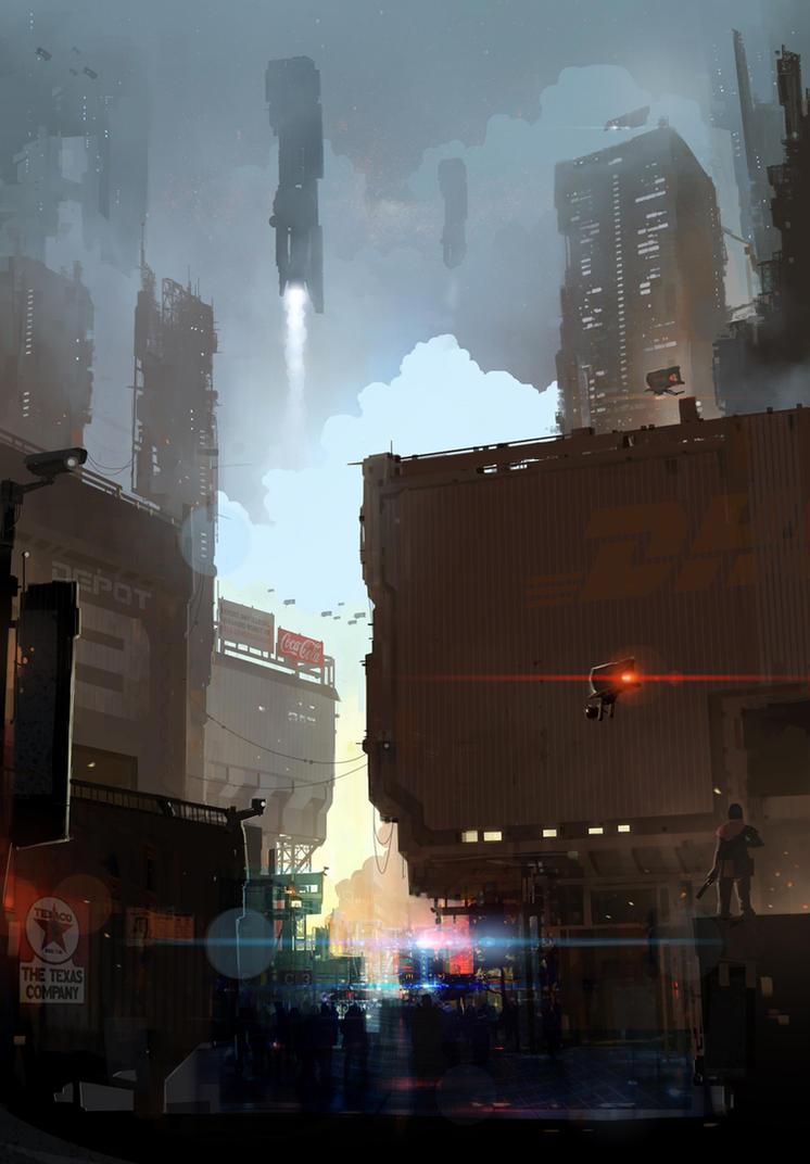Mainstreet by sketchboook
