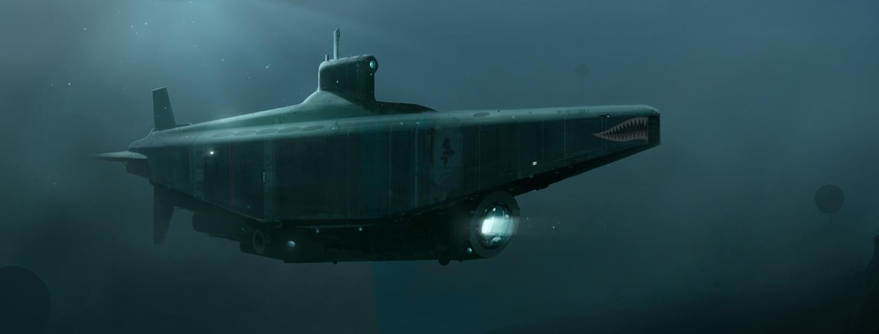 Submarine by sketchboook