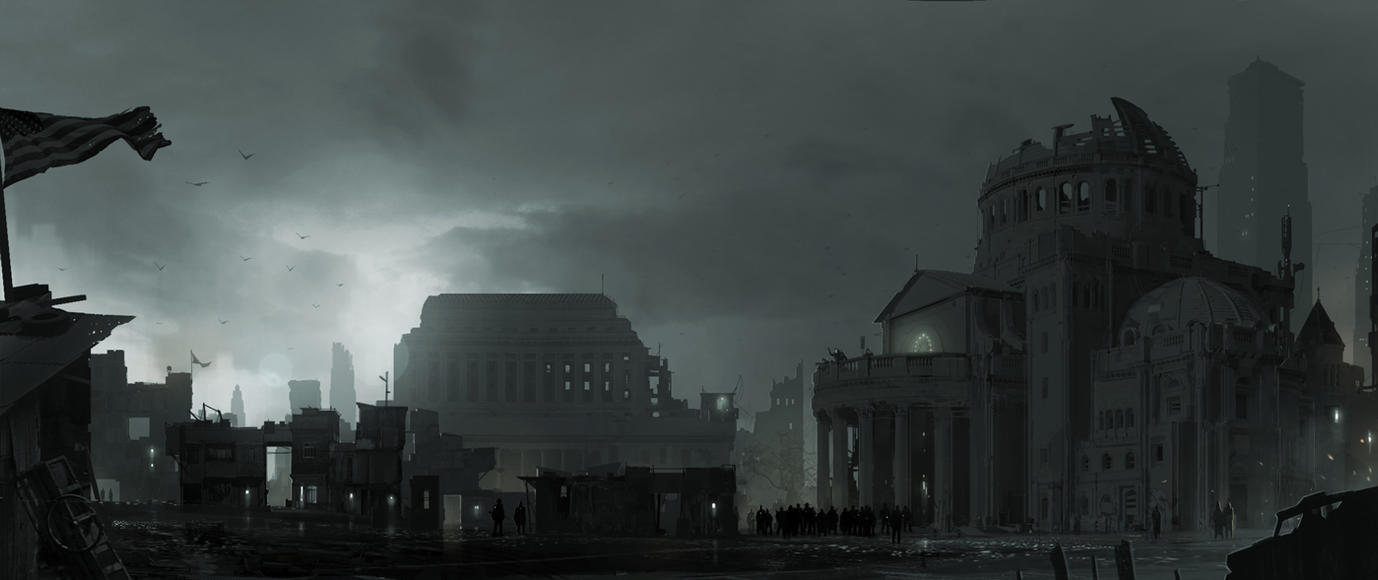 Fallout: Shadow of Boston by sketchboook