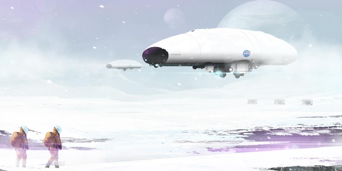 Airship by sketchboook