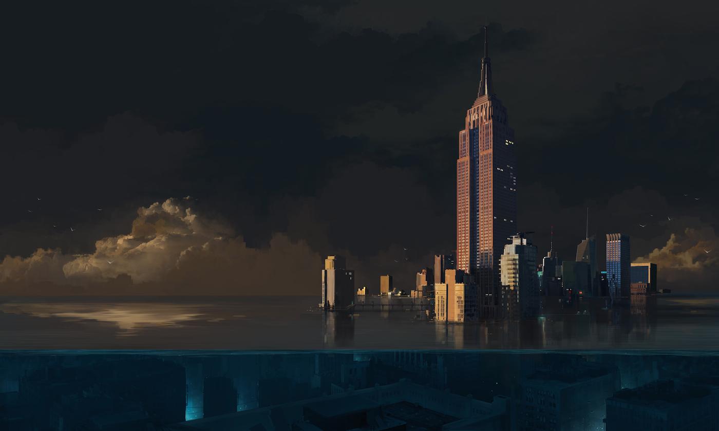 NY Underwater by sketchboook