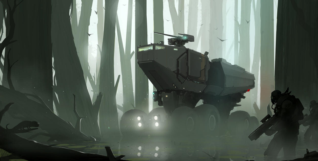Swampcrawler by sketchboook