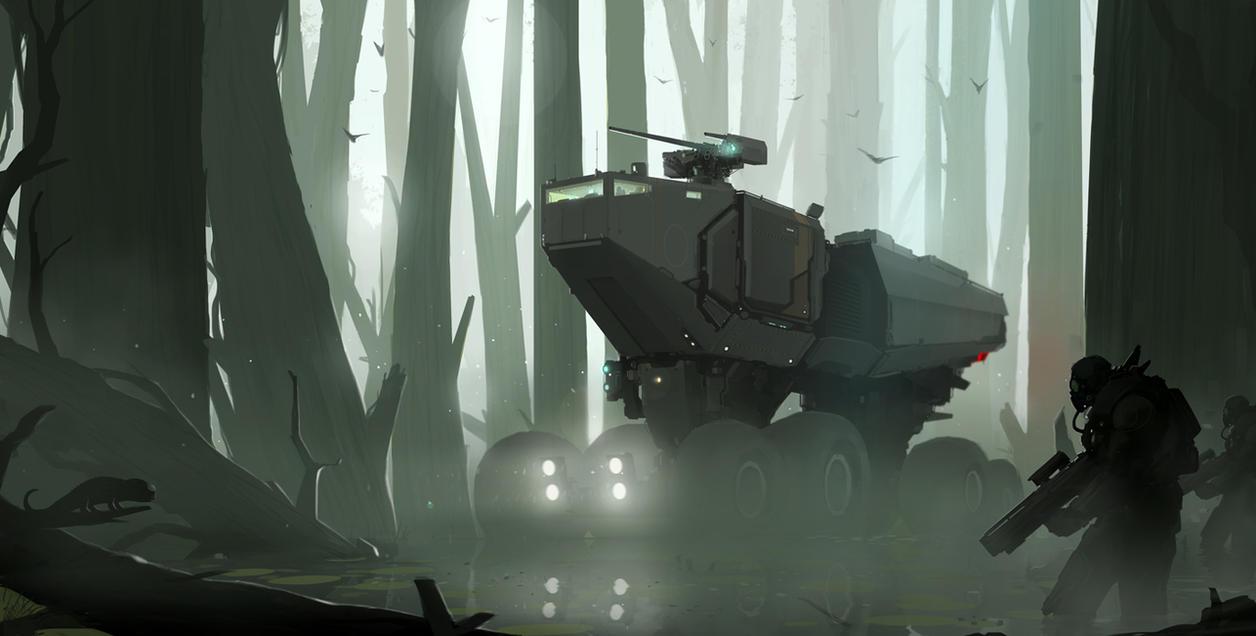 Swampcrawler by sketchboook