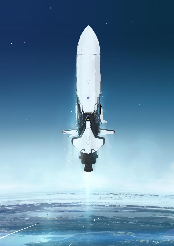 future rocket gif - 752×1063