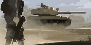 Armored strike