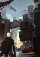 Arrival by sketchboook