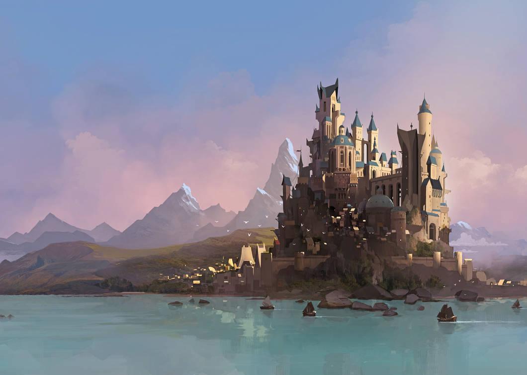 City of Amber by sketchboook