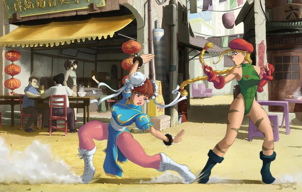 chun li street fighter v fan art