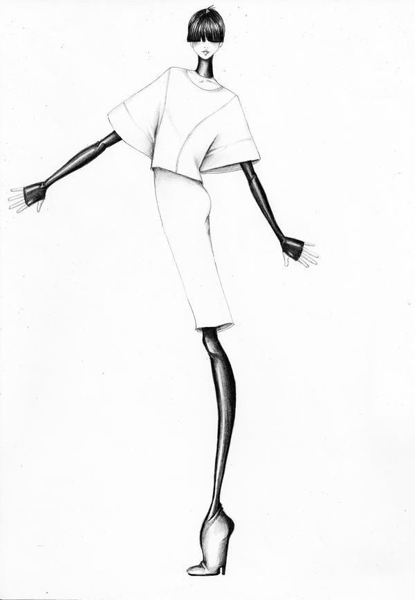 Fashion Illustration III by Volpibr