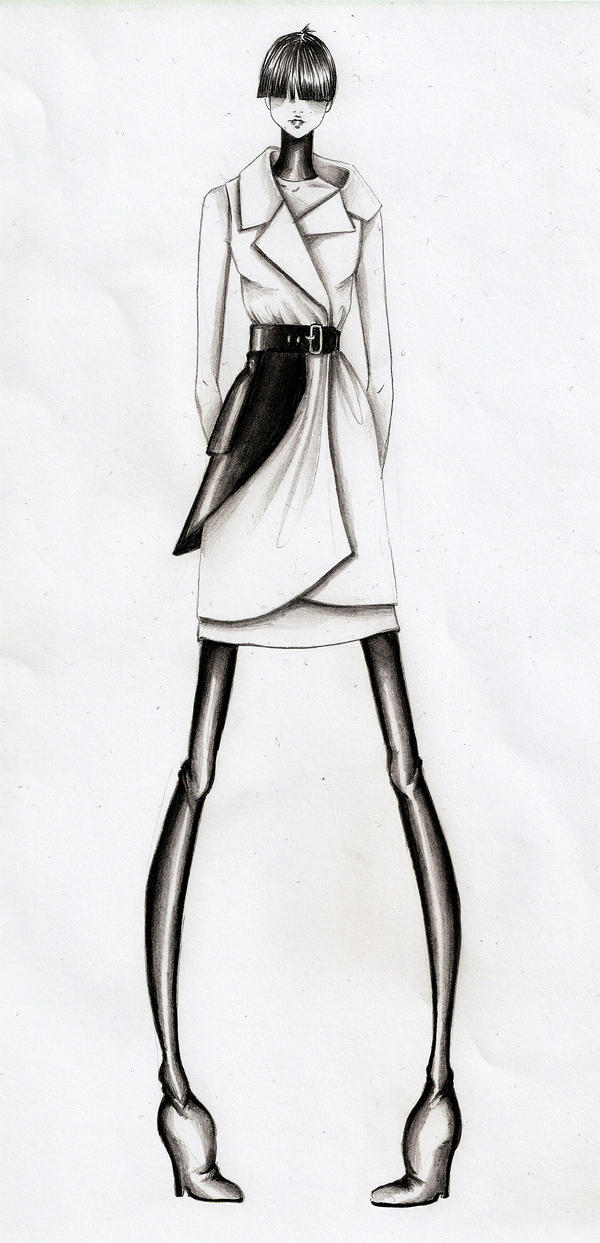 The streets of fashion: Fashion illustration
