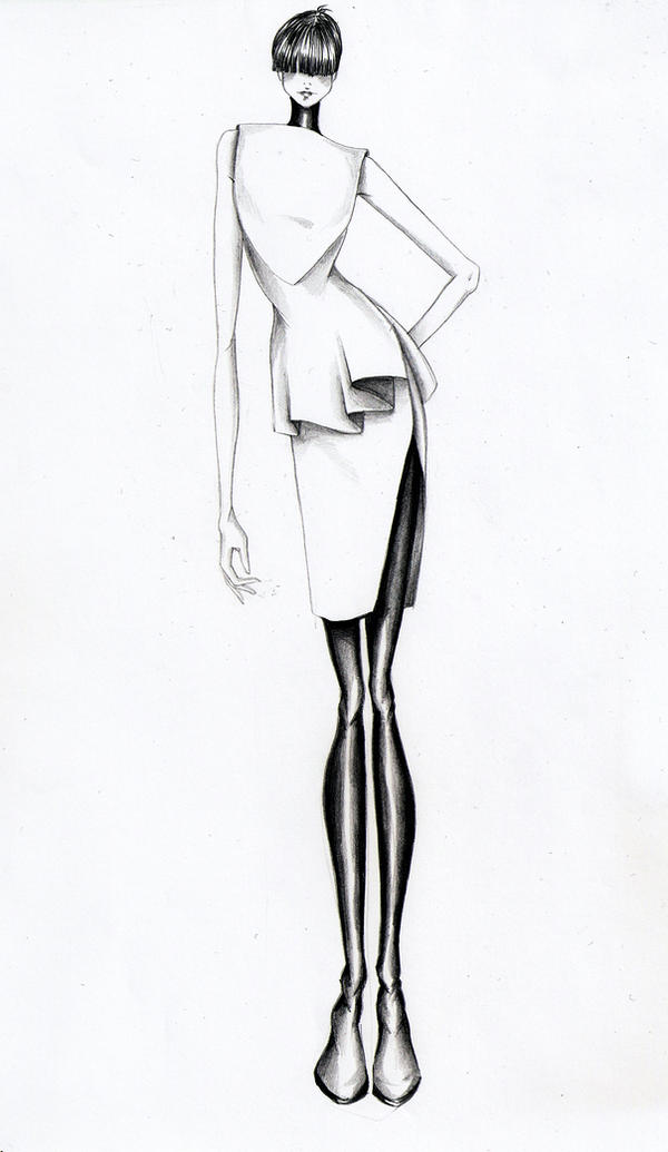 fashion designer drawing template - fashion illustration v by volpibr on deviantart