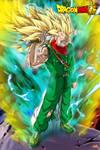 Trunkan - Super Saiyan 3 Rage {by Maniaxoi} by AlphaDBZ