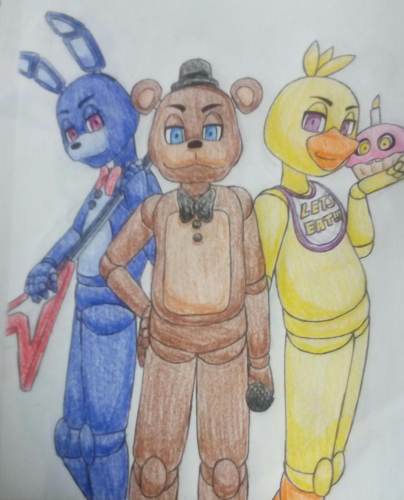 The Original Fazbear Band by SazukaXDeidara4Ever