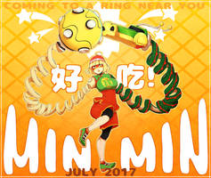 MIN MIN ENTERS THE RING! (WITH PROCESS VIDEO) by Dali-Puff