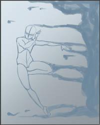 Girl Emerging by AquiterCorona
