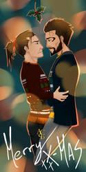 A Holly Reunion - Jensen and Pritchard by AquiterCorona