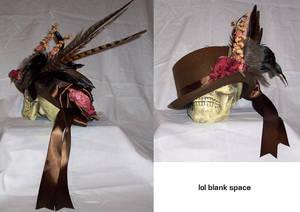 Brown 'Victorian' hat