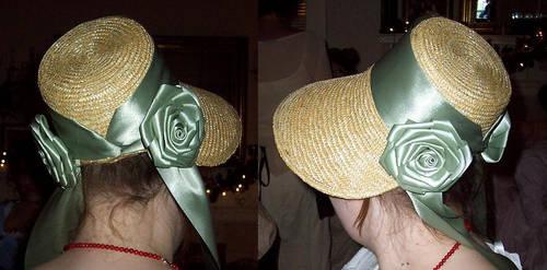 Regency bonnet 2