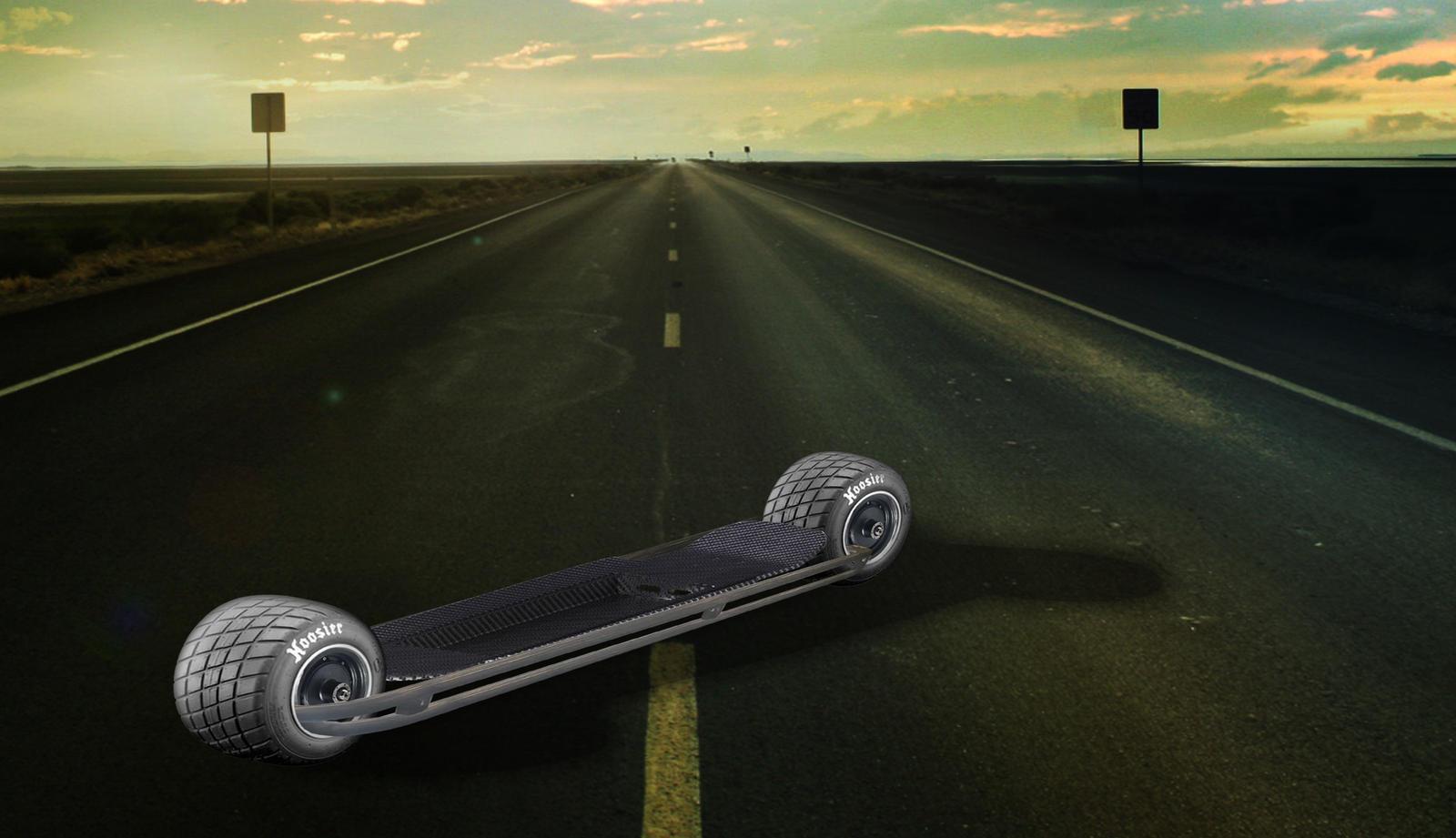 Is it possible: 2 Wheel skateboard w/image - Endless Sphere